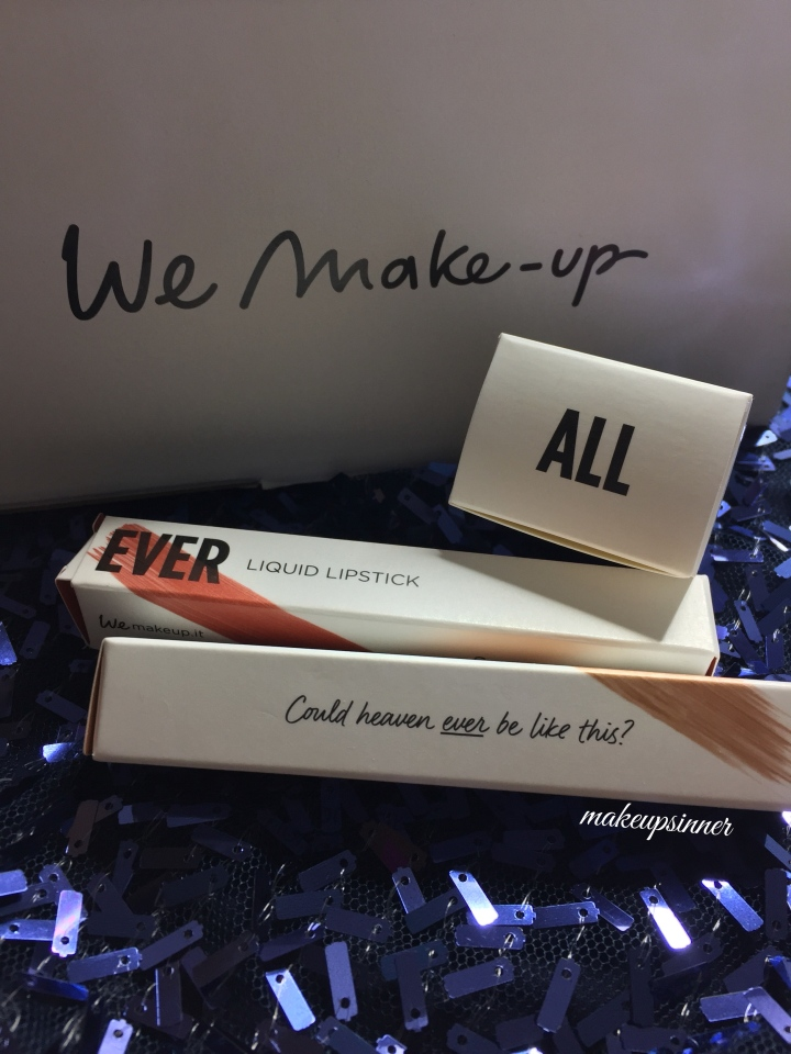 WE MAKEUP collezione Natale 2016 | tinte metal e all over…wemakeup, and you?