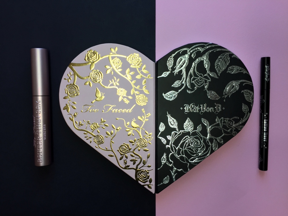Too Faced x Kat Von D - Better Together Ultimate Eye Collection - RECENSIONE E SWATCH
