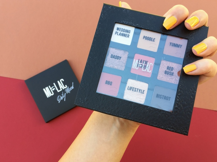 DAILY MOOD PALETTE BY MULAC COSMETICS| REVIEW & SWATCH