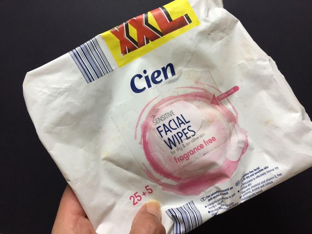 facial wipes cien.JPG