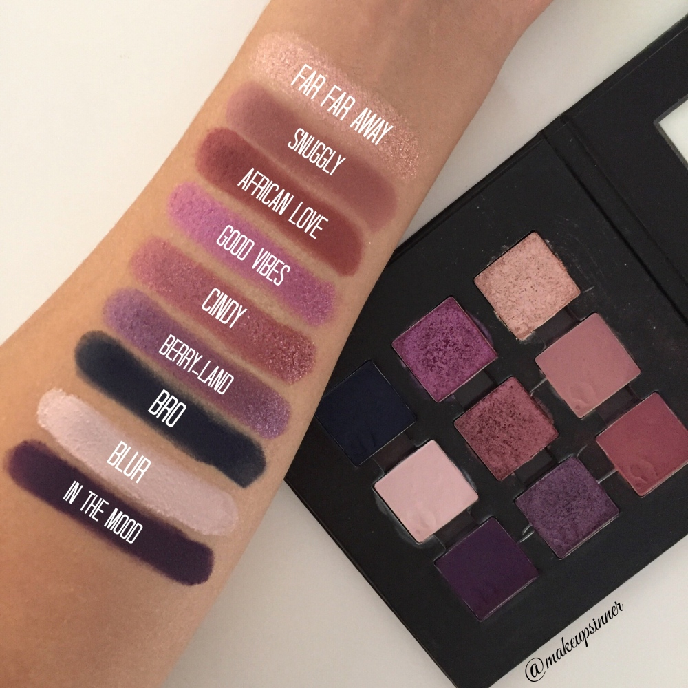 good vibe swatch mulac makeupsinner