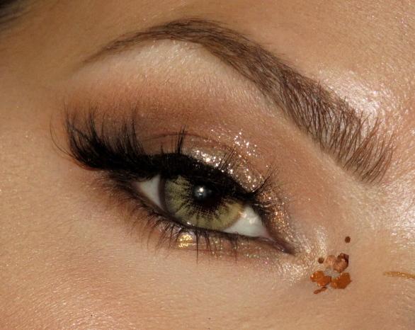 caramel brown desio lenses | close up look