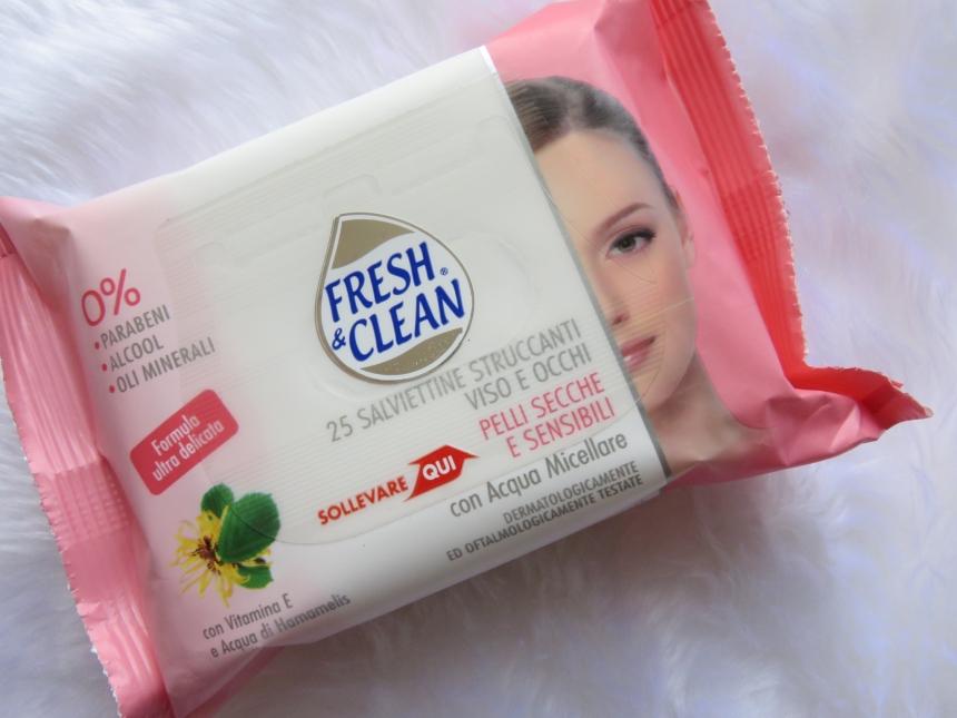 FRESH&CLEAN SALVIETTE STRUCCANTI