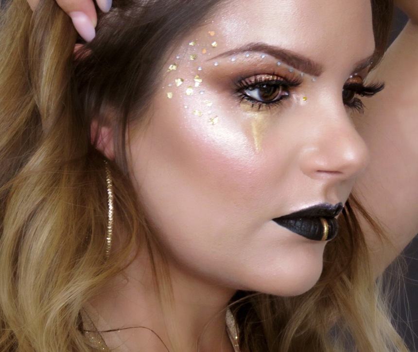 7 peccati capitali makeup look avarizia