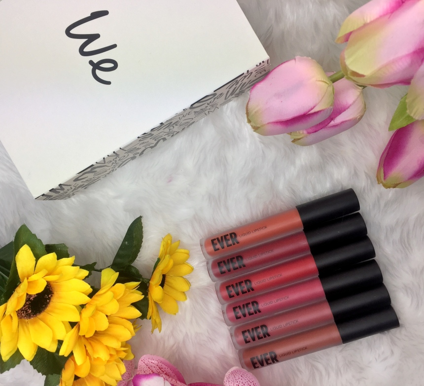 wemakeup ever liquid lipsticks.JPG