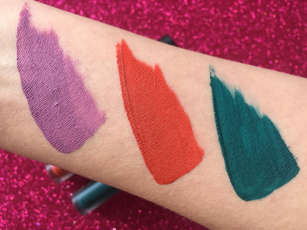 WEMAKEUP EVER LIQUID LIPSTICKS swatches.JPG