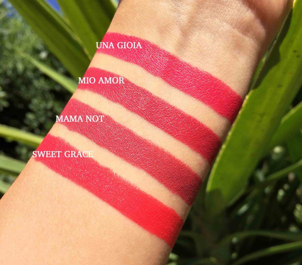 swatches creamy love clio makeupsinner 2