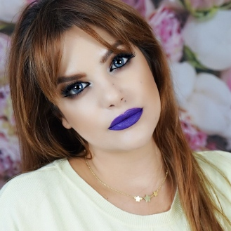 purple & yellow look makeupsinner