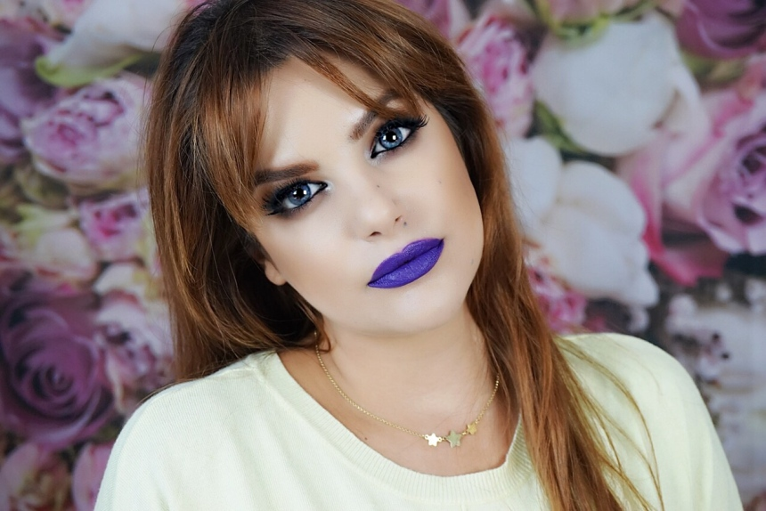 purple & yellow look makeupsinner.JPG