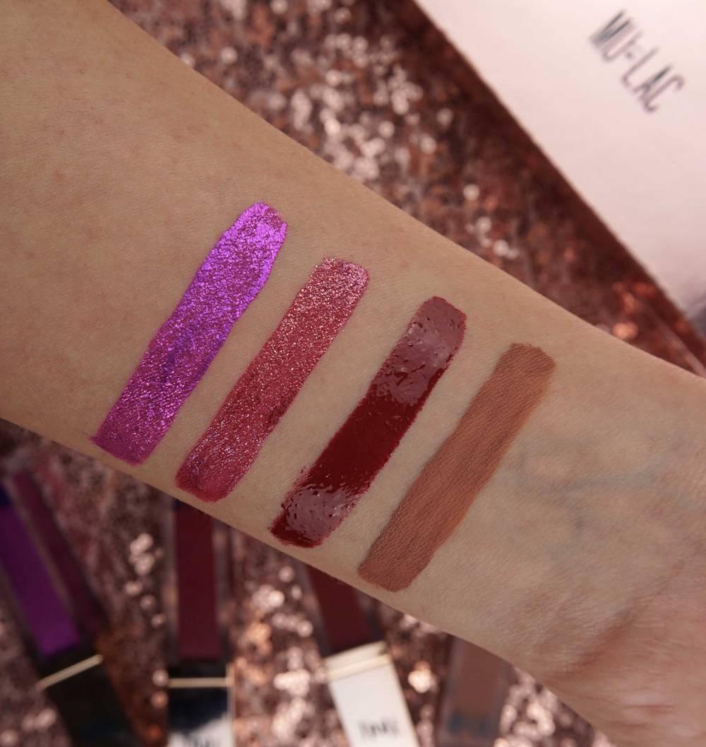 mulac-swatches-liquid-lipsticks-kali-collection