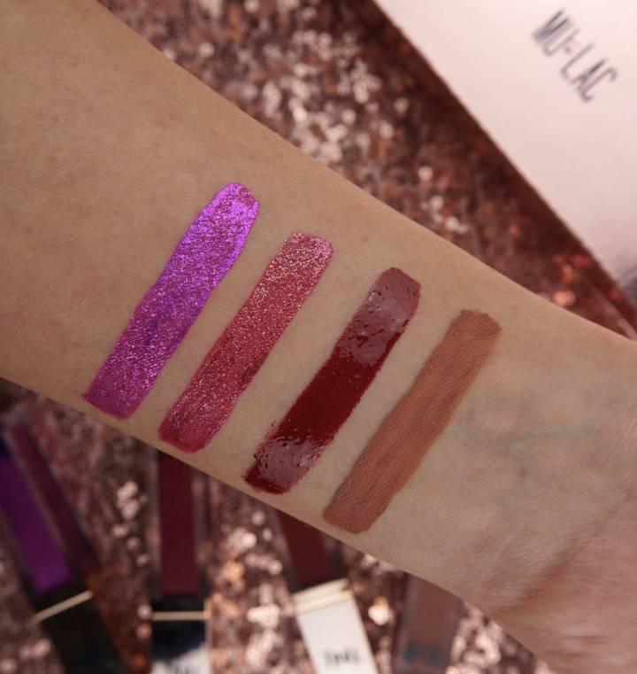 mulac-swatches-liquid-lipsticks-kali-collection