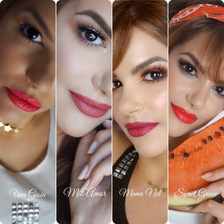 cliomakeup creamy love lip swatches makeupsinner