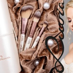 luvia brushes coffee